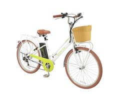 Elswick Electric Step Through 10Ah Electric Heritage Bike With Basket 1 Thumbnail