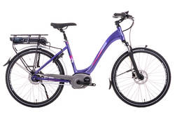 Raleigh Captus Step Through Nexus Hub Electric Bike Purple Thumbnail