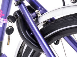Raleigh Captus Step Through Nexus Hub Electric Bike Purple 3 Thumbnail