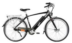 Emu Cross Bar Electric Bike Black Thumbnail