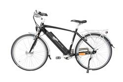 Emu Cross Bar Electric Bike Black 1 Thumbnail
