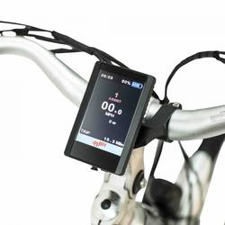 Emu Cross Bar Electric Bike Black 8 Thumbnail