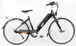 Emu Step-through Electric Bike - Black Thumbnail