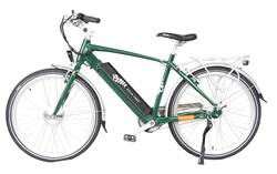 Emu Cross Bar Electric Bike British Racing Green 1 Thumbnail