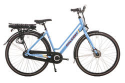Raleigh Array Step Through Emotion Hub Gear Electric Bike Denim Blue Thumbnail