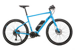 Raleigh Strada Elite Blue Alloy Frame Carbon Forks 11Ah Electric Bike Thumbnail