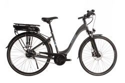 Raleigh Motus Tour Step Through Hub Gear Electric Bike Grey 700c Thumbnail