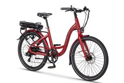 Ex Demo Wisper 705se 375Wh Stealth Electric Bike - Red 1 Thumbnail
