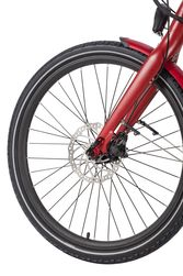 Ex Demo Wisper 705se 375Wh Stealth Electric Bike - Red 3 Thumbnail