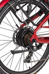 Ex Demo Wisper 705se 375Wh Stealth Electric Bike - Red 4 Thumbnail