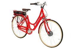Raleigh Spirit E Step Through Medium Frame Electric Bike Red 1 Thumbnail