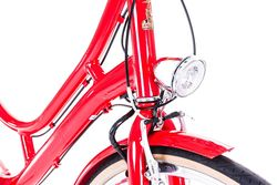 Raleigh Spirit E Step Through Medium Frame Electric Bike Red 2 Thumbnail