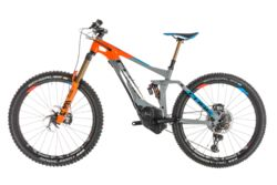 Cube Stereo Hybrid 160 Action Team 500 Kiox FS Electric MTB 2019 - 8 Speed, 27.5