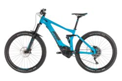 Cube Stereo Hybrid 140 Pro 500 FS Electric MTB 2019 Blue - 11 Speed, 27.5