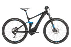 Cube Stereo Hybrid 120 Race 500 FS Electric MTB 2019 Black - 11 Speed Thumbnail