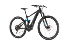 Cube Stereo Hybrid 120 Race 500 FS Electric MTB 2019 Black - 11 Speed 1 Thumbnail