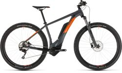 Cube Reaction Hybrid Pro 500 HT Electric MTB 2019, Grey/Orange - 10 Speed Thumbnail