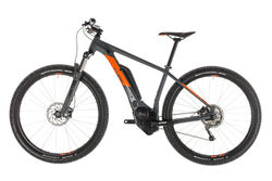 Cube Reaction Hybrid Pro 500 HT Electric MTB 2019, Grey/Orange - 10 Speed 1 Thumbnail