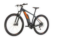 Cube Reaction Hybrid Pro 500 HT Electric MTB 2019, Grey/Orange - 10 Speed 2 Thumbnail