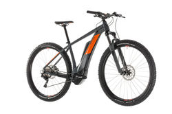 Cube Reaction Hybrid Pro 500 HT Electric MTB 2019, Grey/Orange - 10 Speed 3 Thumbnail
