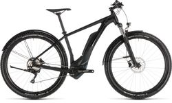 Cube Reaction Hybrid Pro 500 Allroad HT Electric MTB 2019, Black - 10 Speed Thumbnail