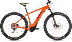 Cube Reaction Hybrid SL 500 HT Electric MTB 2019, Orange/Green - 11 Speed Thumbnail