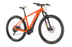 Cube Reaction Hybrid SL 500 HT Electric MTB 2019, Orange/Green - 11 Speed 1 Thumbnail