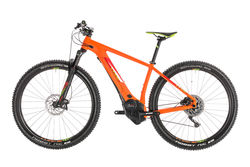 Cube Reaction Hybrid SL 500 HT Electric MTB 2019, Orange/Green - 11 Speed 2 Thumbnail