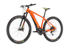 Cube Reaction Hybrid SL 500 Kiox HT Electric MTB 2019, Orange/Green - 11 Speed 5 Thumbnail
