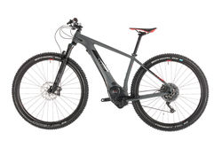 Cube Reaction Hybrid SLT 500 Kiox HT Electric MTB 2019, Grey - 11 Speed 1 Thumbnail