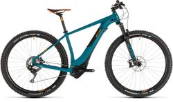 Cube Reaction Hybrid SLT 500 HT Electric MTB 2019, Blue/Orange - 11 Speed Thumbnail