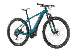 Cube Reaction Hybrid SLT 500 HT Electric MTB 2019, Blue/Orange - 11 Speed 1 Thumbnail