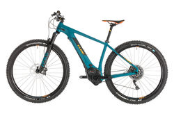 Cube Reaction Hybrid SLT 500 HT Electric MTB 2019, Blue/Orange - 11 Speed 2 Thumbnail