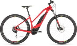 Cube Acid Hybrid One 400 Ladies HT Electric MTB 2019, Red - 9 Speed, 29