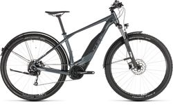 Cube Acid Hybrid One 400 Allroad Mens HT Electric MTB 2019, Grey - 9 Speed, 29