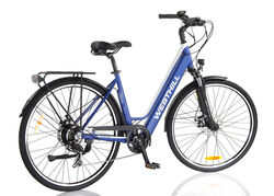 Westhill CLASSIC Step Through City Electric Bike BLUE 1 Thumbnail
