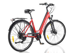 Westhill CLASSIC Step Through City Electric Bike RED 2 Thumbnail