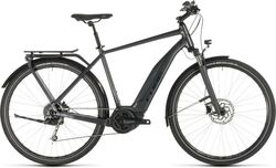 Cube TOURING HYBRID 500 Mens Electric Bike 2019 - Iridium/Black Thumbnail