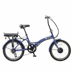 eLiFE Regency Folding City Electric Bike REFURBISHED - Blue Thumbnail