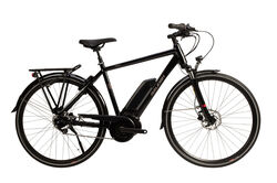 Raleigh 2020 Motus GT Crossbar Hub Alloy Electric Hybrid Bike, Black - 7 Speed, 700c Thumbnail