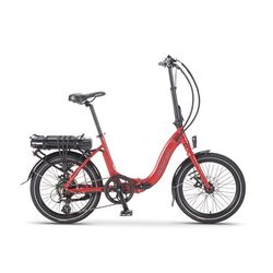 Wisper 806 Folding Electric Bike - Red 2020 Thumbnail