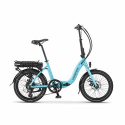 Wisper 806 Folding Electric Bike - Electric Blue 2020 Thumbnail