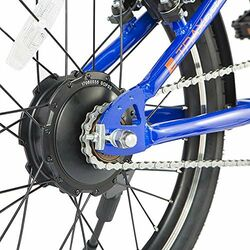 eLife Air Folding Commuter Electric Bike - Blue 2 Thumbnail