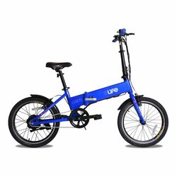 eLife Air Folding Commuter Electric Bike - Blue Thumbnail