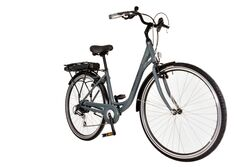 Basis Commute Unisex Step Through Electric Bike - Graphite Grey 1 Thumbnail
