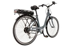 Basis Commute Unisex Step Through Electric Bike - Graphite Grey 3 Thumbnail