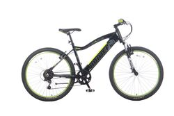 Basis Hunter Unisex Integrated Electric Mountain Bike - Black/Lime Thumbnail