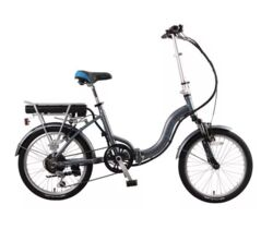 Ex Demo Basis Osprey Folding Low Step Electric Bike - 8.8Ah Thumbnail