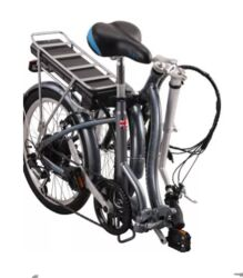 Ex Demo Basis Osprey Folding Low Step Electric Bike - 8.8Ah 2 Thumbnail