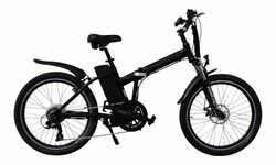 Byocycle FDXL Folding Electric Bike 24